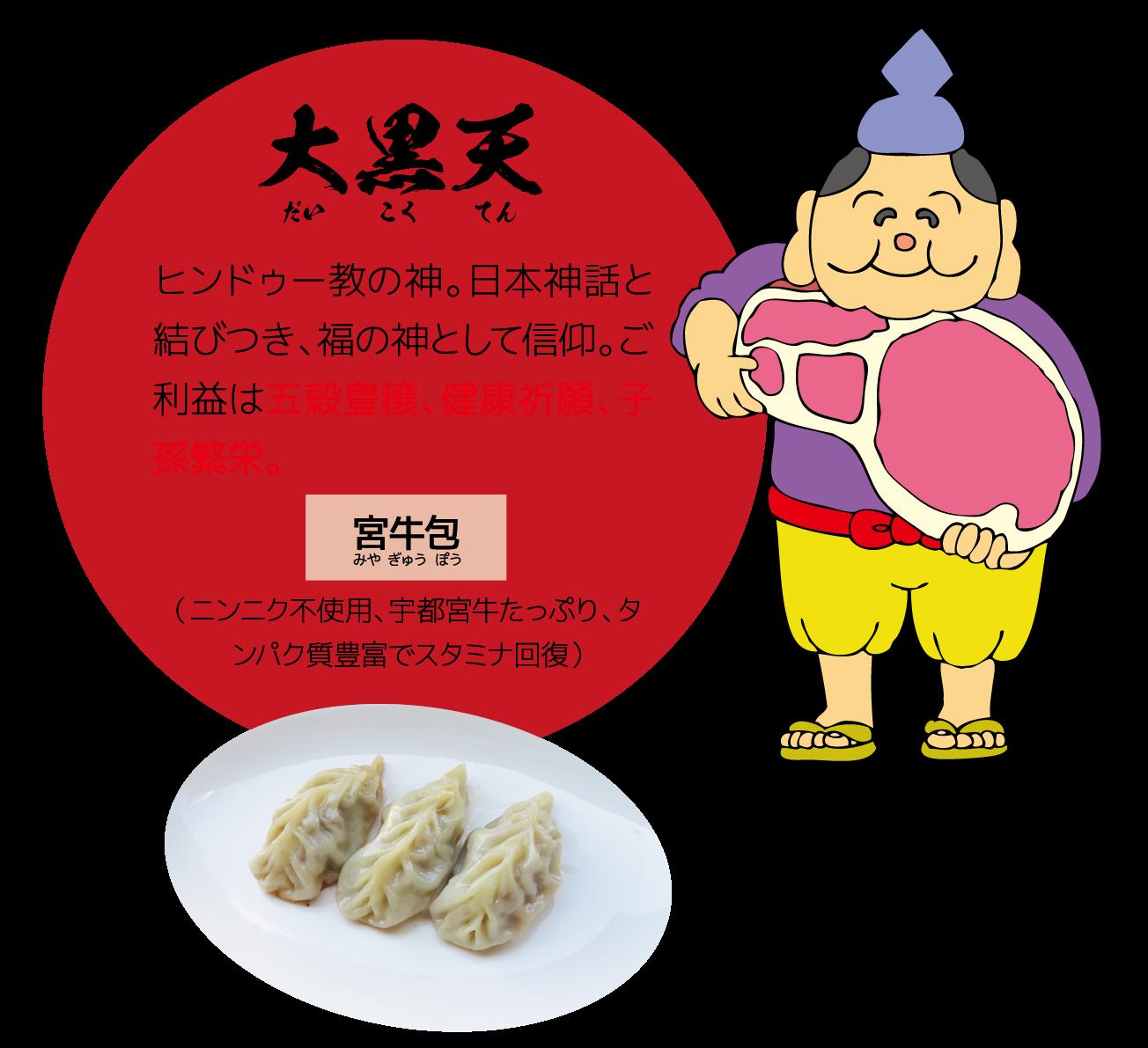 寿限無餃子 福禄寿